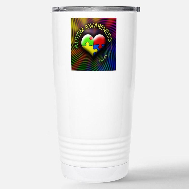 autismawareness-1in88-r Travel Mug
