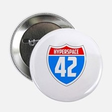 """Hyperspace 42 2.25"""" Button"""