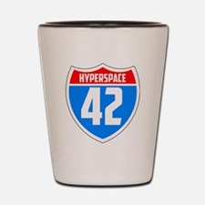 Hyperspace 42 Shot Glass