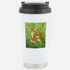 squareTigerCub Travel Mug