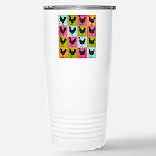 poster-chickenpopart Travel Mug