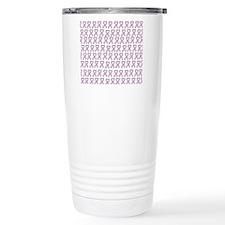 Pink Ribbon Travel Mug