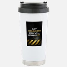 Decision to Try Stainless Steel Travel Mug