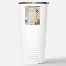 VitruvianShowerCurtain Stainless Steel Travel Mug