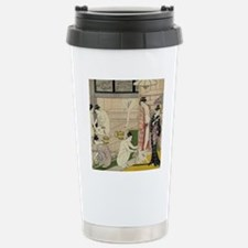 Kiyonaga bathhouse wome Travel Mug