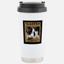SimonWantedWIDE-a Stainless Steel Travel Mug