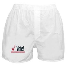 Vote or hold your peace Boxer Shorts