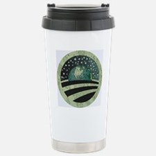 Obama Earth Logo Stainless Steel Travel Mug