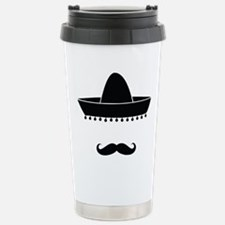 mexican Stainless Steel Travel Mug