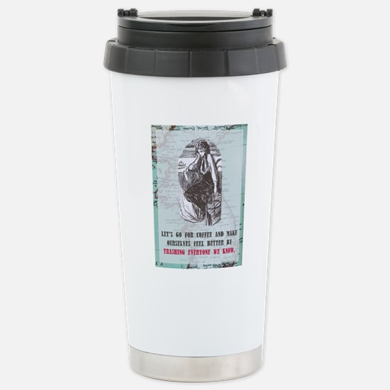 Newcard 075 trashing ev Stainless Steel Travel Mug