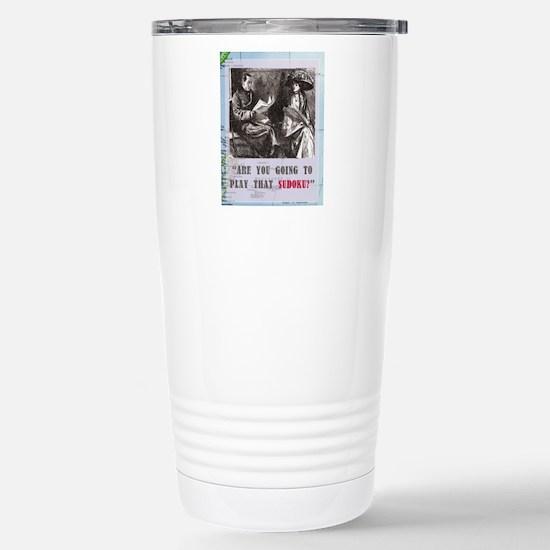newCard sudoku Stainless Steel Travel Mug