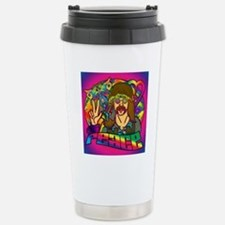 PSYCHEDELIC-PEACE-showe Stainless Steel Travel Mug