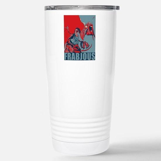 Frabjous Stainless Steel Travel Mug