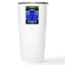 Beautiful Blue Hydrange Travel Mug