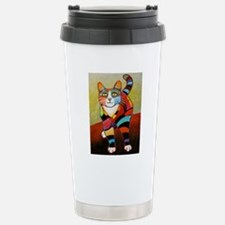 catColorsNew Stainless Steel Travel Mug