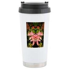Red Green Rhodie Leaves Travel Mug