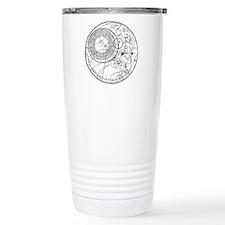 circles fob watch Travel Mug