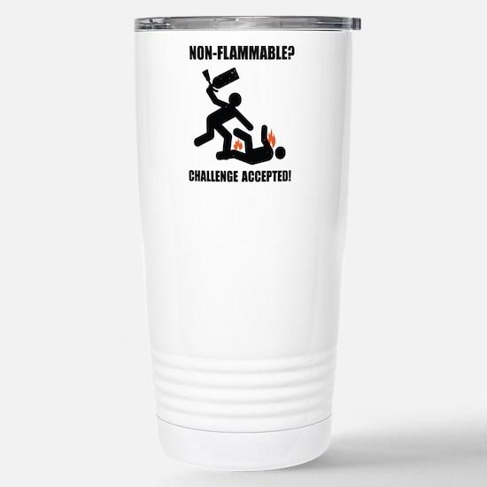 non flammable Stainless Steel Travel Mug