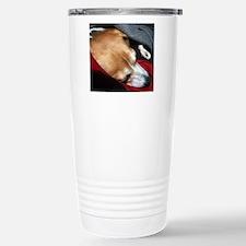 Let Sleeping Dogs Lie Travel Mug