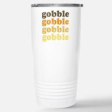 Thanksgiving Retro Travel Mug