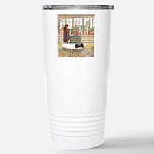 Girl at Window Travel Mug