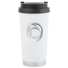 Abstract lens Travel Mug