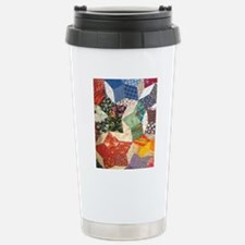 Colorful Patchwork Quil Travel Mug