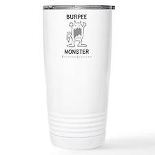 B MONSTER - White Travel Mug
