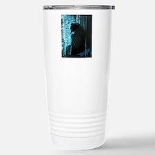 DollyCat Deep Deep Blue Travel Mug
