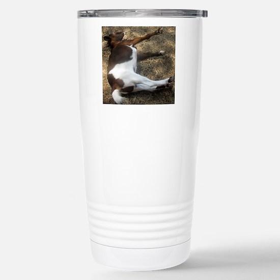 fainting goat Stainless Steel Travel Mug