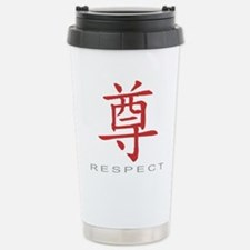respectColored Travel Mug