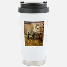3 alpacka frame tile Stainless Steel Travel Mug