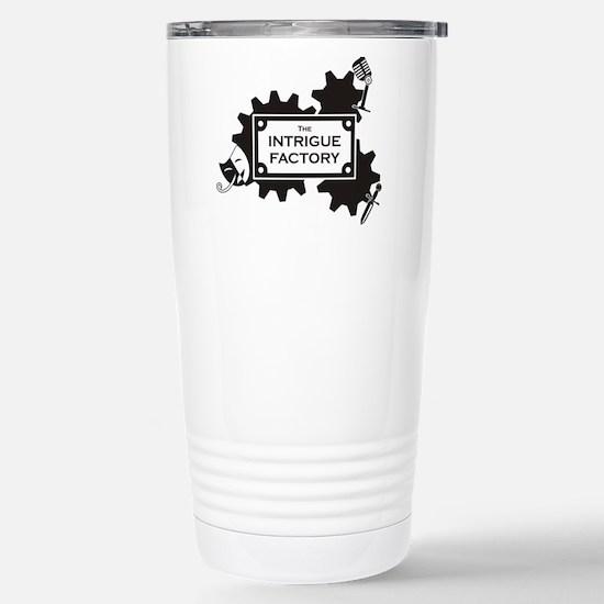 IF black Stainless Steel Travel Mug