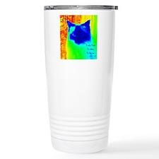 DollyCat Neon Verse - R Travel Mug