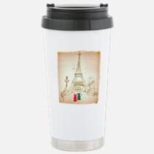 Gummy Bears in Paris Travel Mug