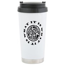 ItIsWhatItIs12x12 Travel Mug