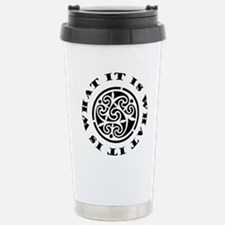 ItIsWhatItIs12x12 Travel Mug