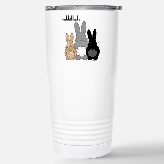 Rabbittude Posse Stainless Steel Travel Mug