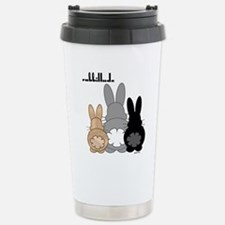Rabbittude Posse Travel Mug