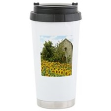 Sunflower Thermos Mug