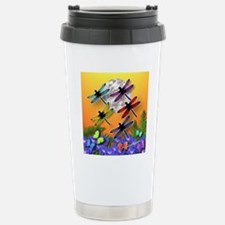 Dragonflying To The Moo Travel Mug