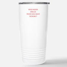 sudoku Travel Mug