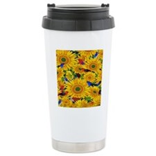 Sunflower Travel Coffee Mug