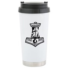 Black Celtic Thors Hamm Travel Mug