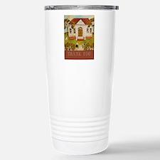 Thank You Librarian Tea Stainless Steel Travel Mug