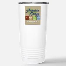 American Energy Indepen Travel Mug