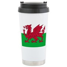 Welsh Flag of Wales Thermos Mug