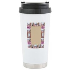 Paris Pointillism And W Travel Mug