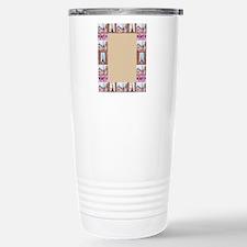 Paris Pointillism And W Travel Mug