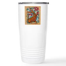 Koi Fish Art by Julie O Travel Mug